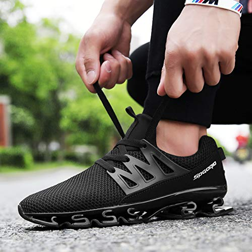 Blade Sports Lace Fashion 1 Mens Shoe XIDISO Mesh up Shoes Sneakers Walking Running Black Outdoor Breathable wqtW4I