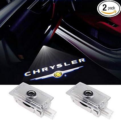 For Chrysler 300 2005-up LED Door Ghost Step Courtesy Shadow Laser Logo Light HD