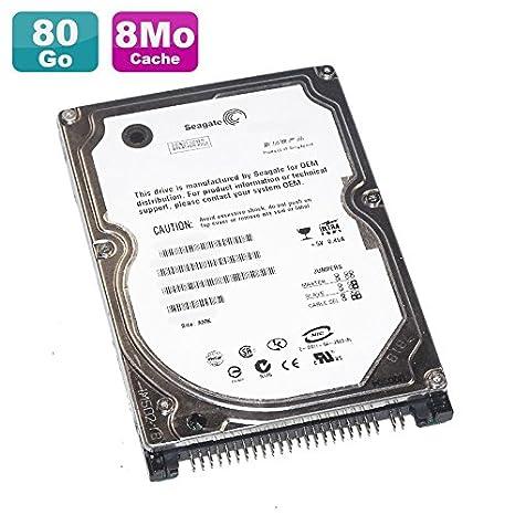 Seagate Disco Duro PC portátil 80 GB IDE 2.5 Momentus 4200.2 st980829 a 8 ...