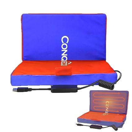 CONQUECO - Cojín térmico Intelliheat con carga USB ajustable ...