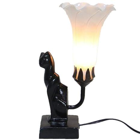 Amazon.com: Lámpara de mesa vintage retro industrial de ...
