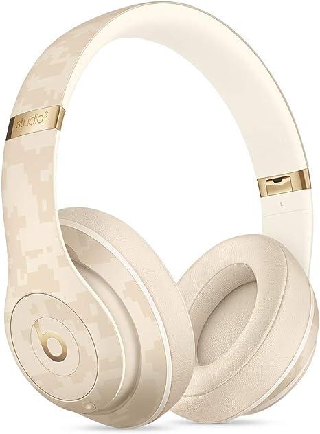 Beats by Dr. Dre Studio3 Inalámbrico Auriculares, Beats Camo Collection, Beige Arena del desierto: Amazon.es