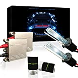 Automotive : Lumenon HID Xenon Conversion Headlight Kit 2 Year Warranty (SMF) (H1, 10000k Ocean Blue)