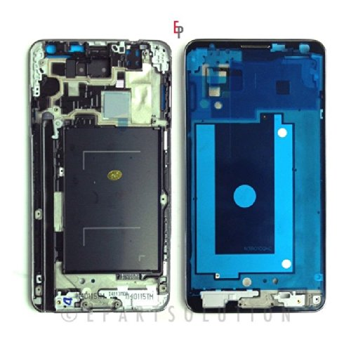 ePartSolution-Samsung Galaxy Note 3 N900A GSM Ver. Middle Mid Faceplate Frame Cover Chassis Housing Case Replacement Part USA Seller