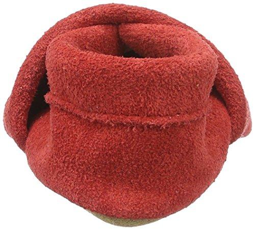 Haflinger Summer - Zapatillas de casa Bebé-Niños Rot (rubin)