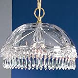 Classic Lighting 8221 CH SC Prague, Crystal All Glass, Light...