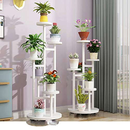YONGYONG Flower Shelf Removable Design Multi-Layer Indoor Flower Table Living Room Space Space Green Shelf Rack Balcony Home Drop Subway Art Pot Rack (Color : C, Size : 45120cm) by YONGYONG (Image #1)