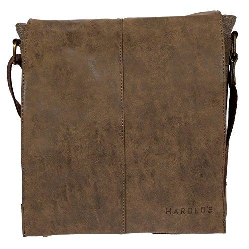 Llupp - Shoulder Bag For Men 28x33x8 Cm Brown Black