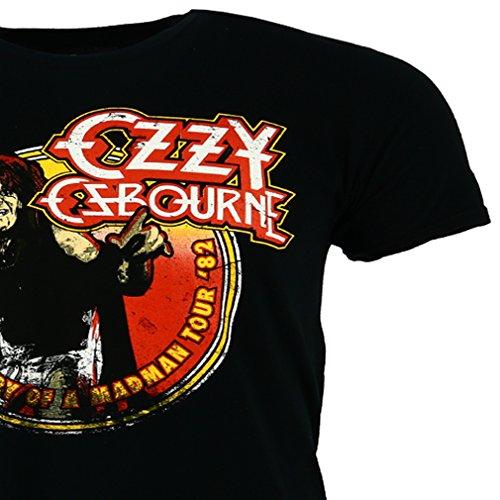 Ozzy Osbourne Diary of a Madman Tour 1982 T-shirt Offiziell Zugelassen Musik
