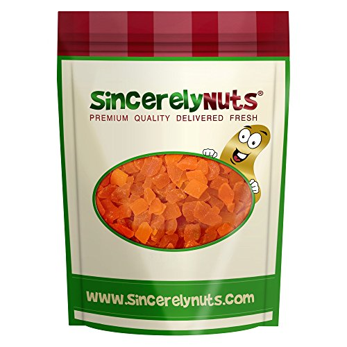 Sincerely Nuts Dried Mango Diced - 1 Lb. Bag - Alarmingly Delicious - Stupefying Freshness - Filled with Wholesome Nutrients - Kosher (Mango Diced)