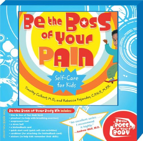 Be the Boss of Your Body Kit with Pain Book