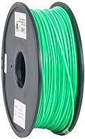 eSun PLA 3D Printer Filament, 3 mm Diameter, 1 kg Spool, Peak Green by Shenzhen Esun Industrial Co., Ltd.