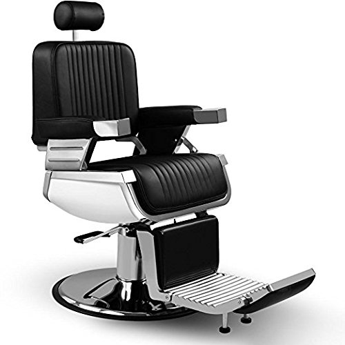 ARTIST HAND Heavy Duty All Purpose Hydraulic Recline Barber Chair Shampoo 360 Swivel Professional Vintage Salon Spa Chair by Artist Hand