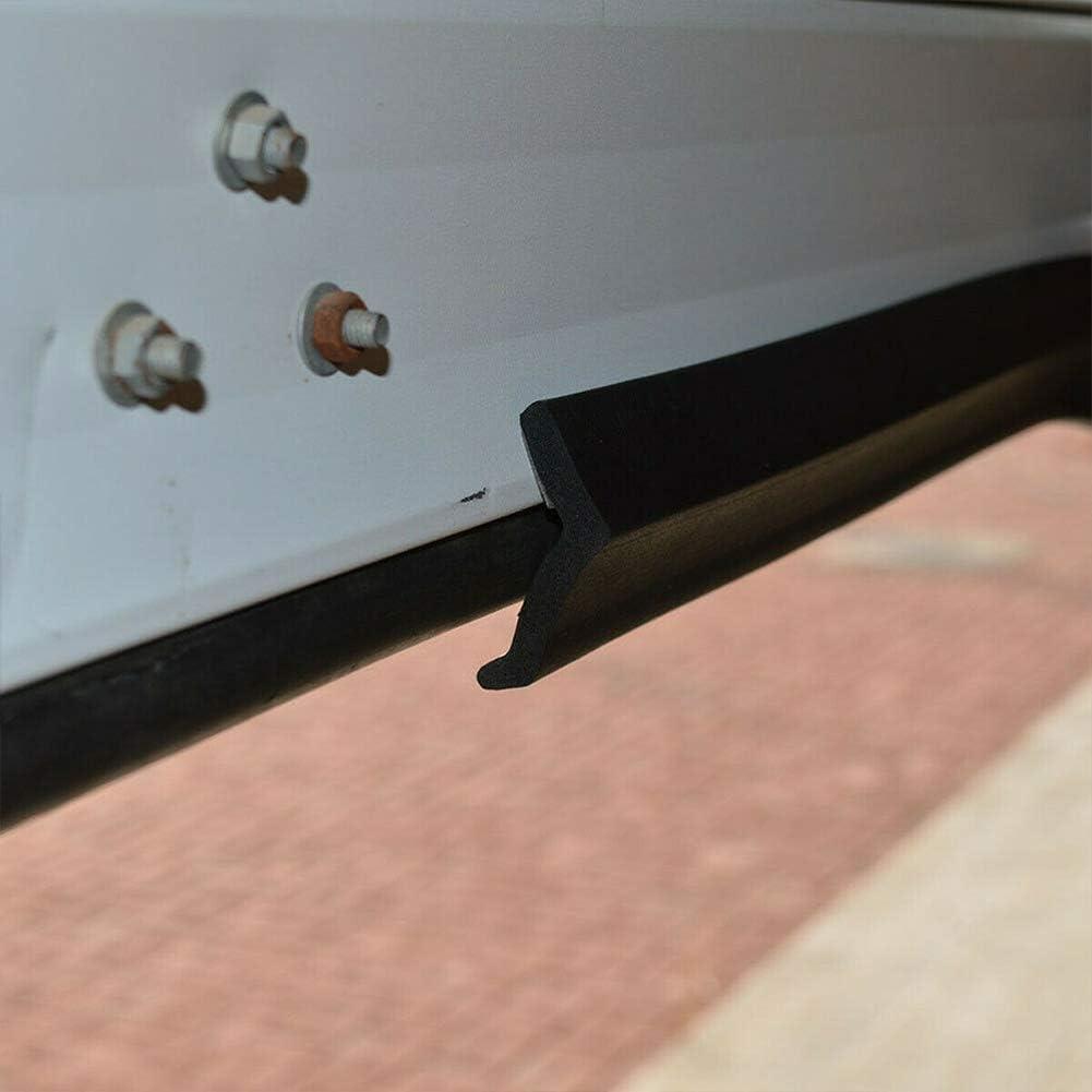 Guarnizione in gomma di ricambio per porta del garage paraspifferi sotto porta 1 m Come da immagine