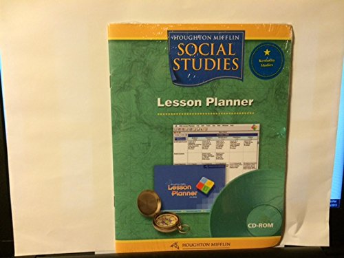Houghton Mifflin Social Studies Kentucky: Lesson Planner Cd-Rom Packaging Lv 4
