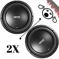 2 NEW REAUDIO SEX15V2D4 15 4 Ohm 3000W MAX Dual 1500W RMS CAR SUBWOOFERS PAIR