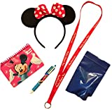 Disney VACATION Set with Essential Park Accessories & Official Autograph Book