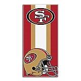 Northwest 720 NFL San Francisco 49ers Zone Read Beach Towel, 30 60-inch