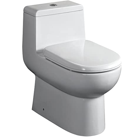 Incredible Fresca Bath Ftl2351 Antila 1 Piece Dual Flush Toilet With Soft Close Seat Andrewgaddart Wooden Chair Designs For Living Room Andrewgaddartcom