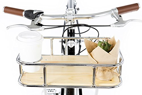 Front Bike Rack with Chrome Coffee Holder