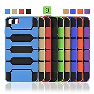 LCJ Angibabe 2 in 1 TPU+PC Phone Back Cover for iPhone 6 Plus (Assorted Colors) , Golden