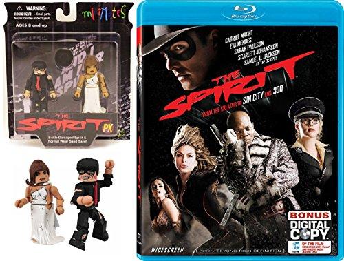 - Comic Strip The Spirit Blu Ray Frank Miller Movie + Hero Figure Pack