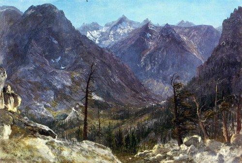 Albert Bierstadt Estes Park Colorado - 16