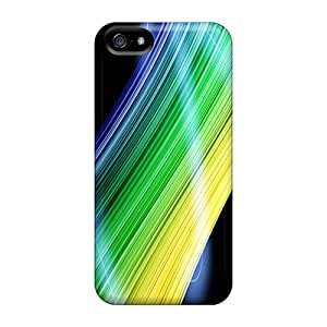 New Arrival Case Cover With Yhz2503Wtkj Design For Iphone 5/5s- Abstract Lines