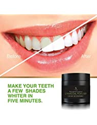 Arishine Teeth Whitening Charcoal Powder Natural - Activated Charcoal Teeth Whitening Kit – Teeth Whitener