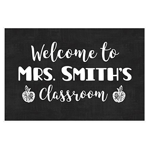 Welcome Personalized School Poster