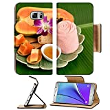 MSD Premium Samsung Galaxy Note 5 Flip Pu Leather Wallet Case Note5 IMAGE ID: 35304219 Papaya and honey aesthetic skin hair acne and dark spots on the face