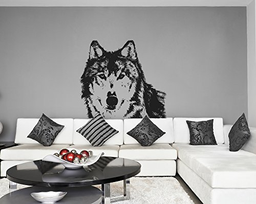 StickersForLife ik628 Wall Decal Wolf Animal Predator Forest Leader Alpha Male Bedroom Children