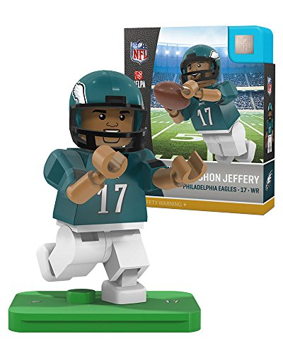 Card Eagles Nfl Philadelphia Football (Alshon Jeffery OYO Philadelphia Eagles Generation 4 G4 Mini Figure)