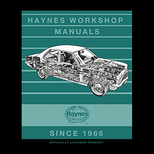 Haynes Workshop Manual 0108 Vauxhall Victor FE Stripe Women's Vest Black