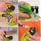Swifty Sharp Cordless Motorized Knife Blade Sharpener Green by MarbellStore
