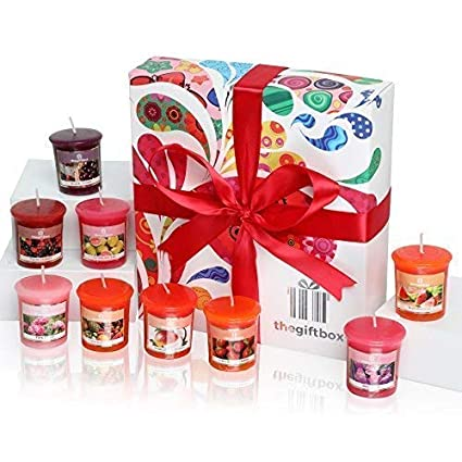 Sunmist Luxury Candle Gift Set with 9 Scented Wax Candles. Scented Candles  Gift Sets Are 2a7206ba3