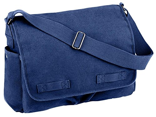 Rothco Classic Heavyweight Canvas Messenger Bag - 4