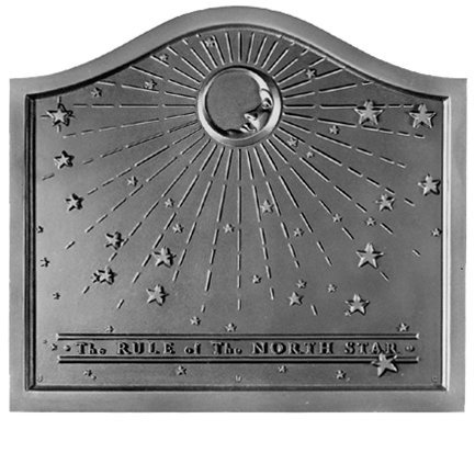 21.5'' x 19'' North Star Fireback by Pennsylvania Firebacks