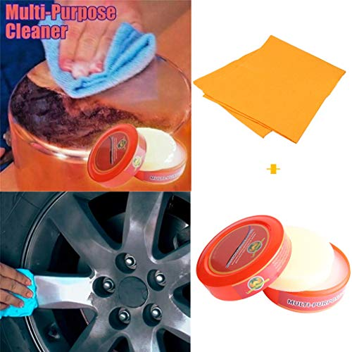 Multi Purpose Cleaner Gallon - Clearance Sale! Natural Multi-Purpose Cleaner Brilliaire Polisher +1PC Cleaning Rag Combination Dry Leather and Wood Products in The Home (Multicolor)