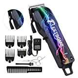 Professional Cordless Hair Clippers for Men BESTBOMG Rechargeable Hair Cutting Kit Home Barber Outliner Hair Beard Trimmer Heavy Duty with Precision Blades 2000mAh Li-ion Battery