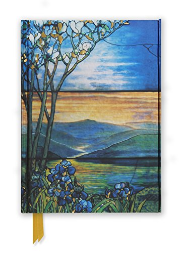 Tiffany Leaded Landscape with Magnolia Tree (Foiled Journal) (Flame Tree ()