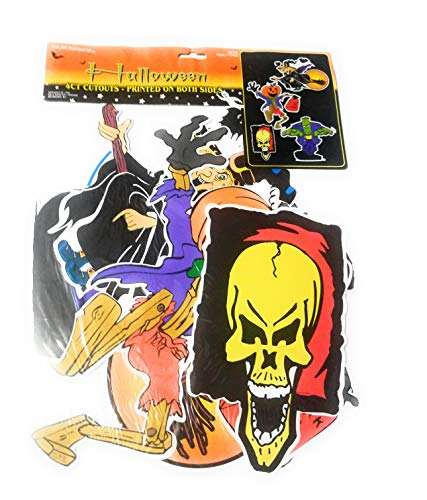 Color fantastik 20 CT Halloween Cutouts Printed on Both -