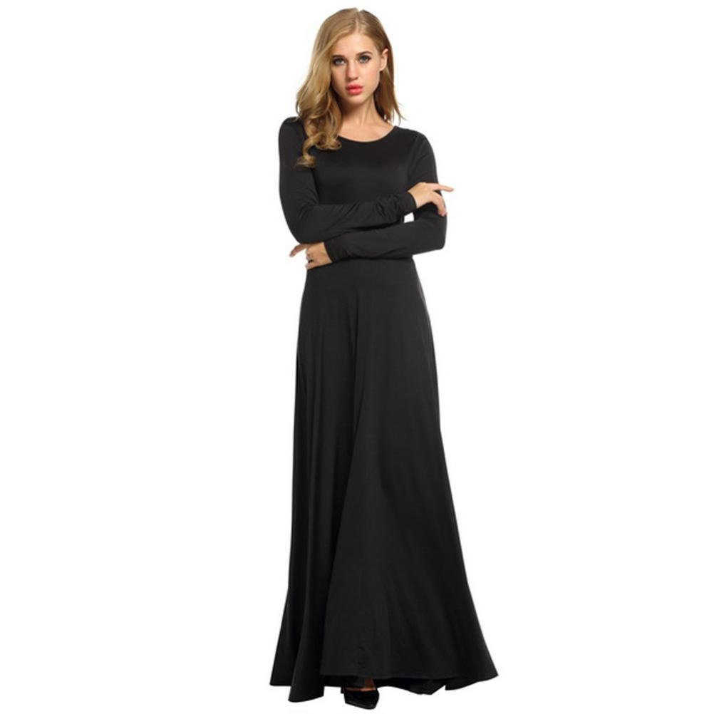 KpopBaby Women Elegent Long Sleeve Evening Party Ball Prom Gown Formal Bridesmaid Cocktail Dress