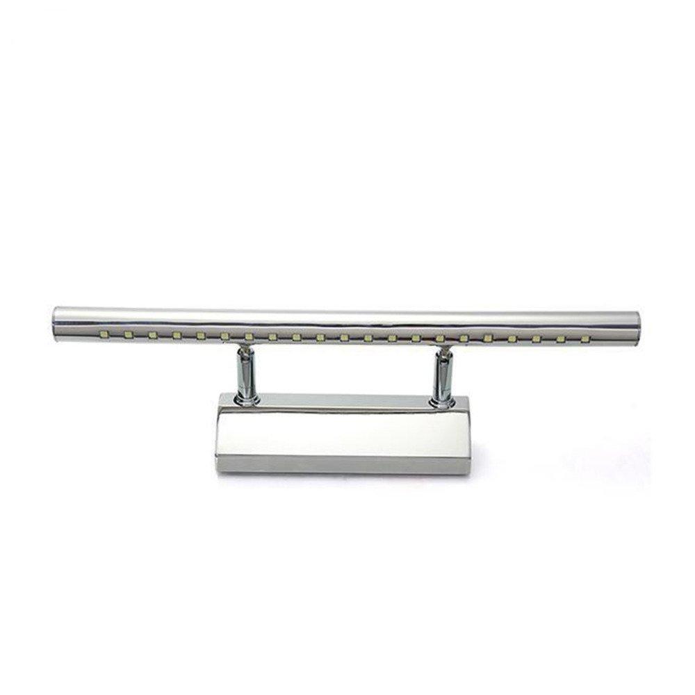 5W Baño LED Espejo,GZQES,Luz AC220V, Mini Estilo Lámparas de Pared con Interruptor (Blanco) [Clase de eficiencia energética A++]