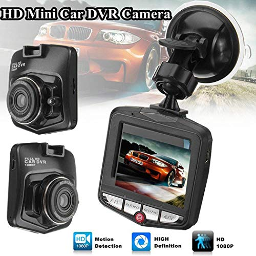 junnire HD 1080P Auto DVR Mini Car Camera Digital Video Recorder Night Vision G-Sensor in-Visor Video