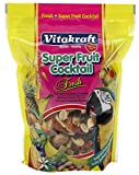 Vitakraft Super Fruit Cocktail Treat For All Parrots & Cockatiels, 20 Ounce Pouch Larger Image