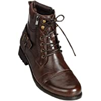 ARIDER BULL-01 Men's Ankle Combat Army Low-Top Causal Boots