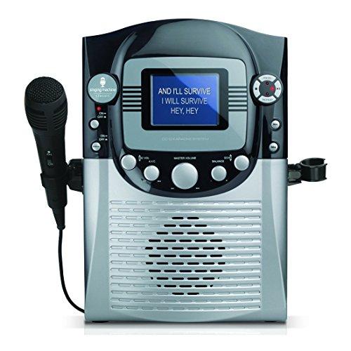 The Singing Machine STVG359 CDG Karaoke System with 3.5