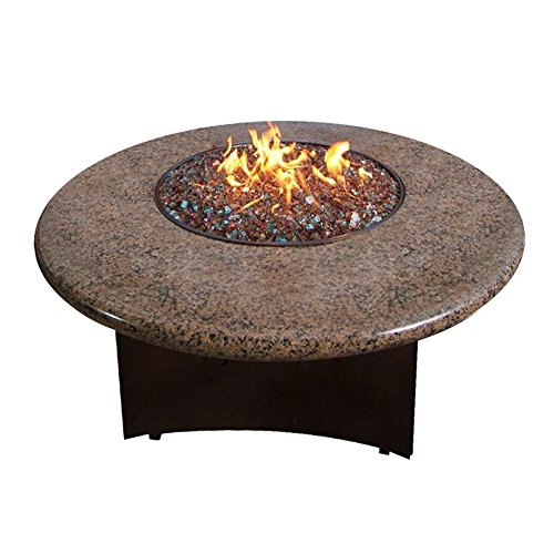 Elegance Oriflamme Outdoor Fire Pits and Fire Pit Tables Tropical Brown by All Backyard Fun