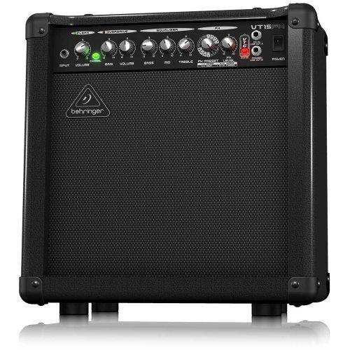 Modeling 15w Guitar - Behringer VT15FX Virtube 15-Watt Guitar Amplifier with 2 Independent Channels, VTC Tube Modeling, Fx And Original Bugera 8 Speaker